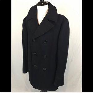 Authentic Vintage 1958 Naval Wool Pea Coat